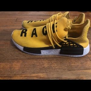 Pharrell nmd human races yellow
